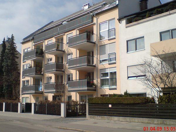 Errichtung einer Wohnanlage in München, Treffauerstraße