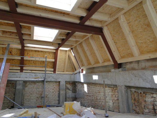 Umbau und Sanierung einer historischen Werkhalle