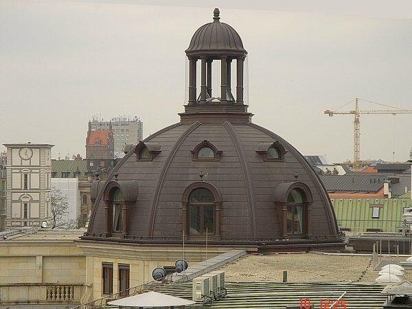 Rekonstruktion einer historischen Dachkuppel in München, Promenadeplatz
